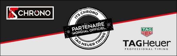 ITS Chrono partenaire mondial officiel TAG Heuer Timing
